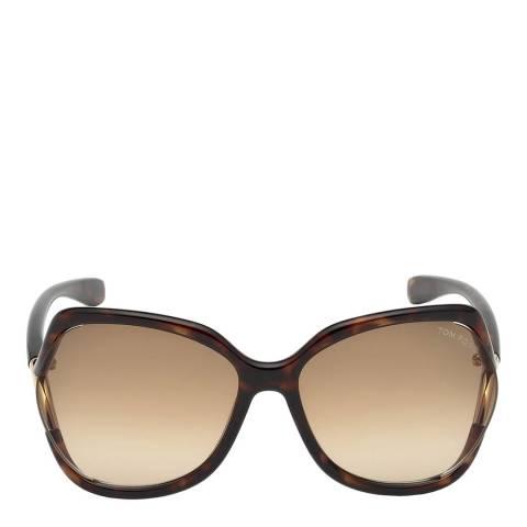 Tom Ford Women's Havana/Brown Tom Ford Sunglasses 60mm