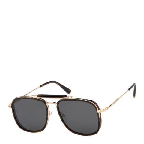 Tom Ford Men's Dark Havana/Smoke Tom Ford Sunglasses 58mm