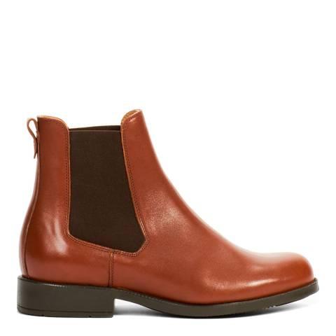 AIGLE Tan Orzac 2 Leather Chelsea Boot