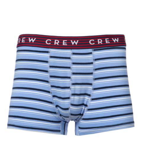 Crew Clothing Multi 3 Pack Stripe Boxers