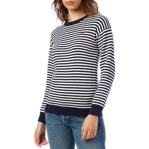 Crew Clothing Multi Breton Stripe Sweatshirt