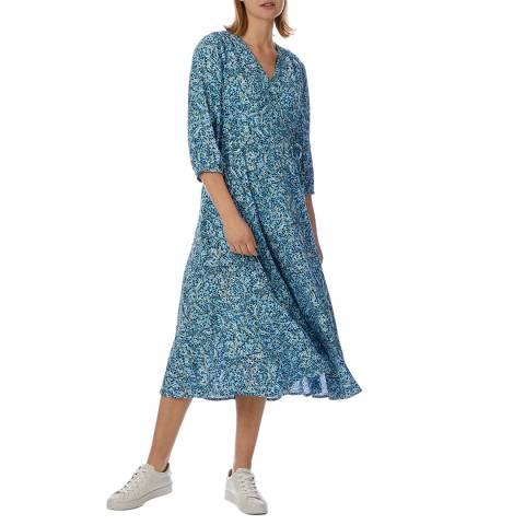 Crew Clothing Seafoam Print Georgie Dress
