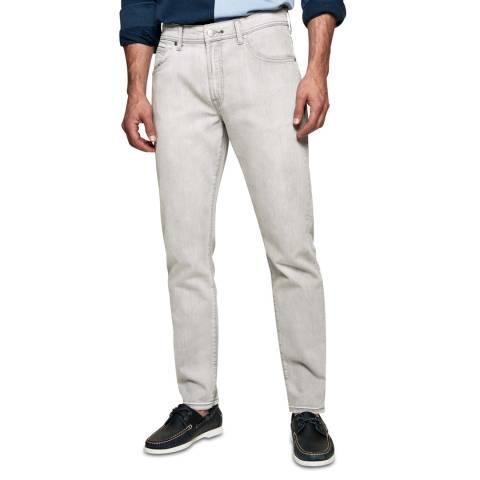 Hackett London Grey Stretch Regular Jeans