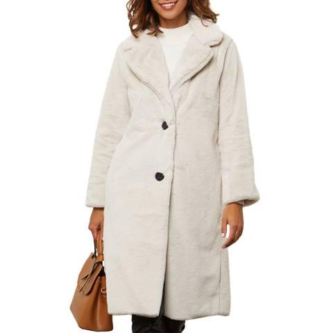Comptoir du Manteau Beige Luxury Midi Coat