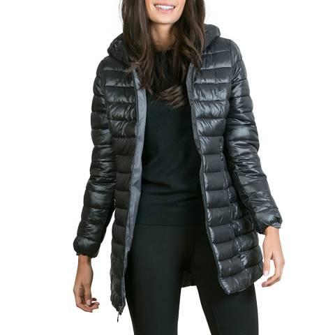 Comptoir du Manteau Black Light Weight Puffer Coat
