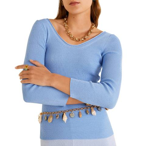 Mango SWEATER ROLLRIB