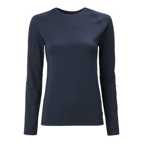 Musto Navy Long Sleeve T-Shirt