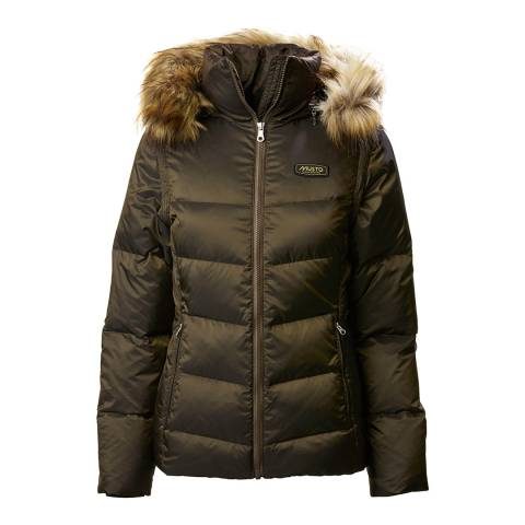 Musto Green Burghley Quilted 2 In 1 Jacket