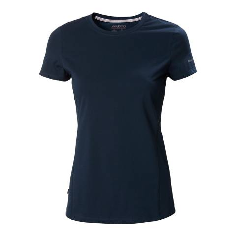 Musto Navy Evo Short Sleeve T-Shirt