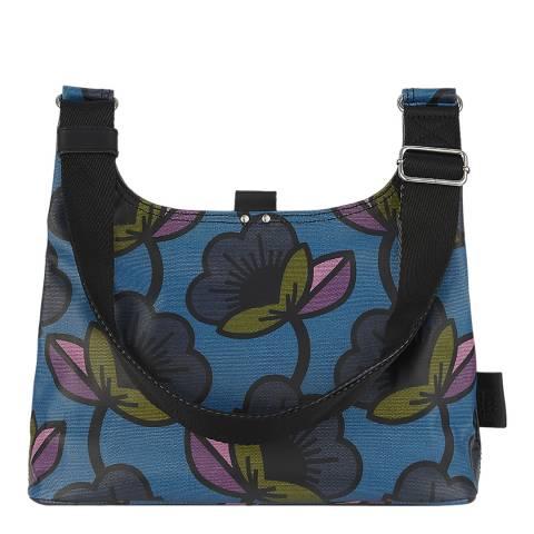 Orla Kiely Passion Flower Kingfisher Mini Sling