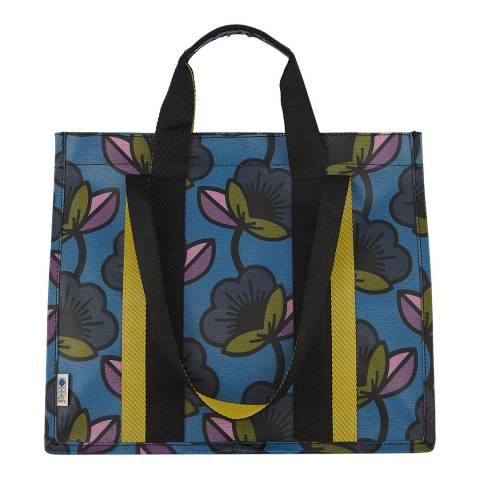 Orla Kiely Passion Flower Kingfisher Voltaire Shopper