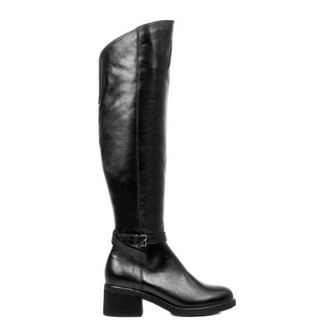Belwest Black Leather Boots