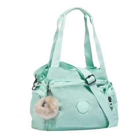 Kipling Mint Macaroon Cyrille Large Shoulder Bag