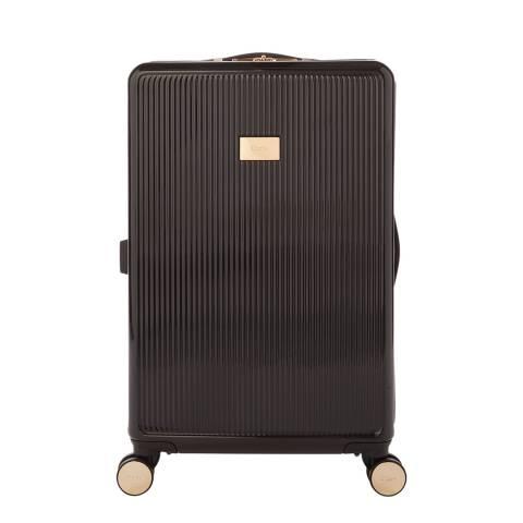 Dune Black Gloss Olive Medium Suitcase
