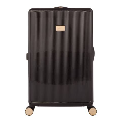 Dune Black Gloss Olive Large Suitcase