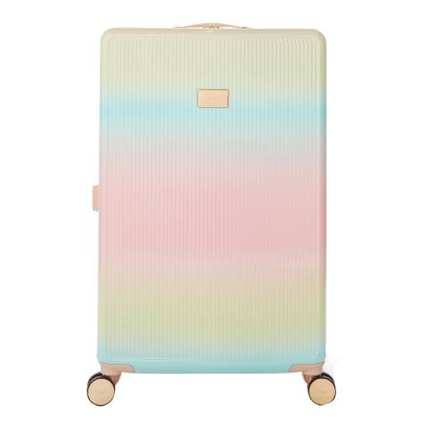 Dune Multi Olive Large Suitcase