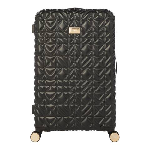 Dune Black Ovangelina Large Suitcase