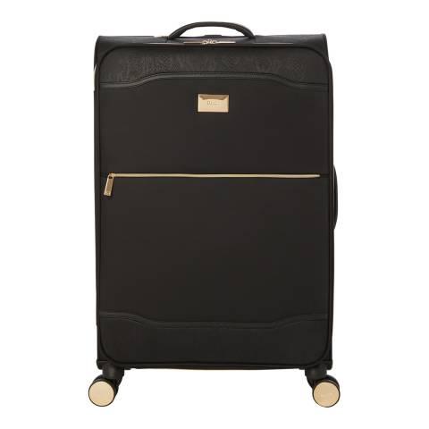 Dune Black Mix Oriel Large Suitcase
