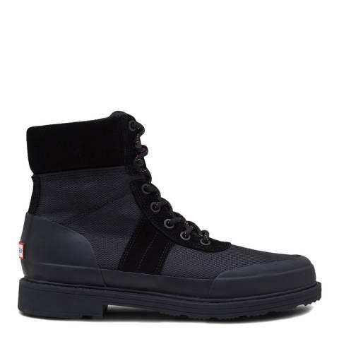 Hunter Black Original Insulated Commando Boots