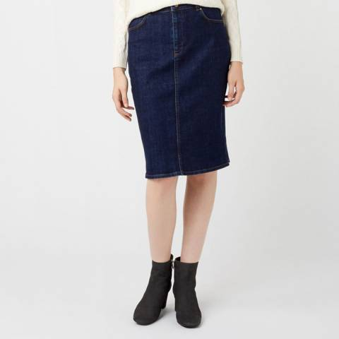 Hobbs London Indigo Louisa Denim Skirt