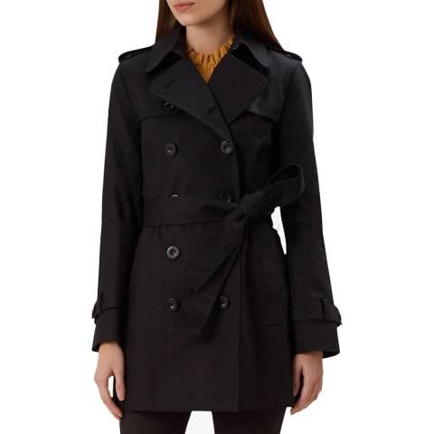 Hobbs London Black Sara Trench Coat