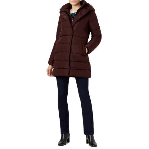 Hobbs London Purple Hadley Puffer Coat