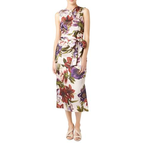 Hobbs London Pink Floral Thao Dress