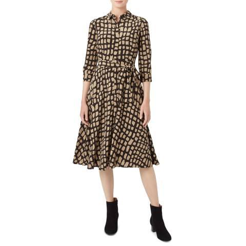 Hobbs London Black Lainey Dress