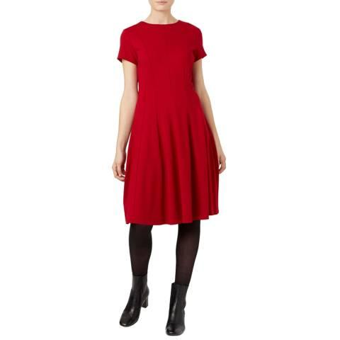 Hobbs London Red Tessa Dress