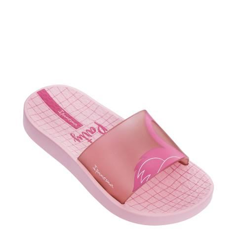 Ipanema Kids Pink Flamingo Slides