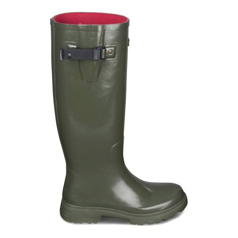 Musto Dark Green Burghley Welly Boot