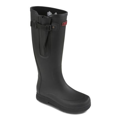 Musto Black Burghley Welly Boot