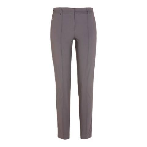 GOLFINO Grey Brushed Techno Stretch Trouser