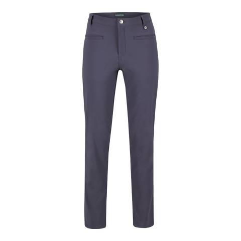 GOLFINO Blue Alpine Leopard Trousers