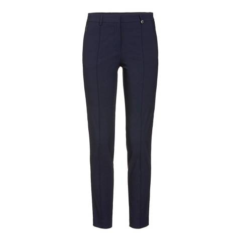 GOLFINO Navy Brushed Tech Stretch Trousers