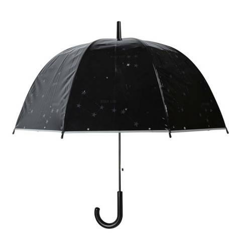 Le Monde du Parapluie Black Constellation Birdcage Umbrella