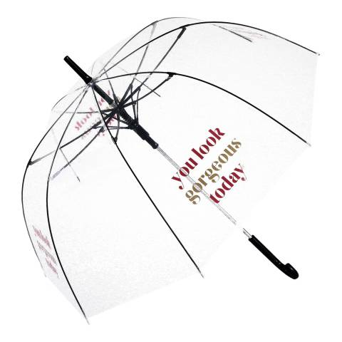 Blooms of London Transparent Gorgeous Birdcage Umbrella