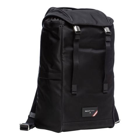 BALLY Black Explore Backpack