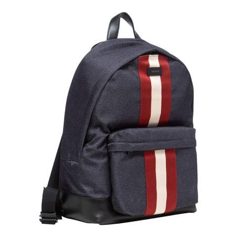 BALLY Ink Bally Stripe NY Backpack