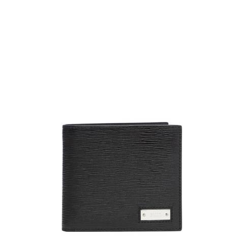 BALLY Black Berna ID Coin Wallet