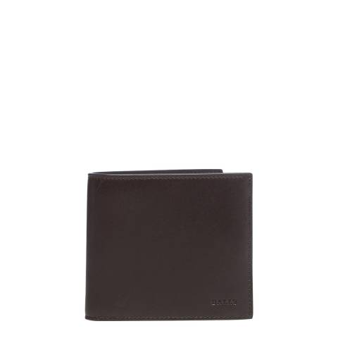 BALLY Chocolate Novo Wallet