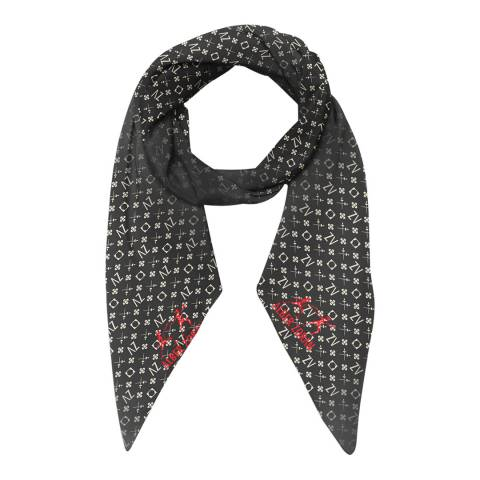 Alber Zoran Black Bee Soft Scarf