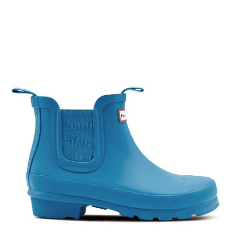 Hunter Blue Original Chelsea Boots