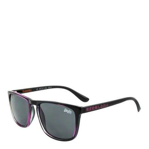 Superdry Women's Black/Pink Superdry Sunglasses 55mm