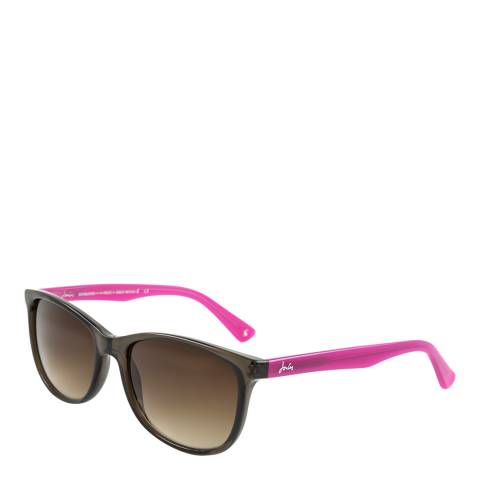 Joules Women's Grey/Pink Joules Sunglasses 55mm