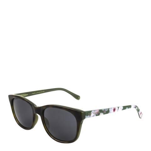 Ted Baker Women's Havana Green Ted Baker Sunglasses 54mm