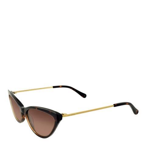 Ted Baker Women's Havana Ted Baker Sunglasses 56mm