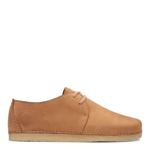 Clarks Originals Light Tan Nubuck Ashton Shoes