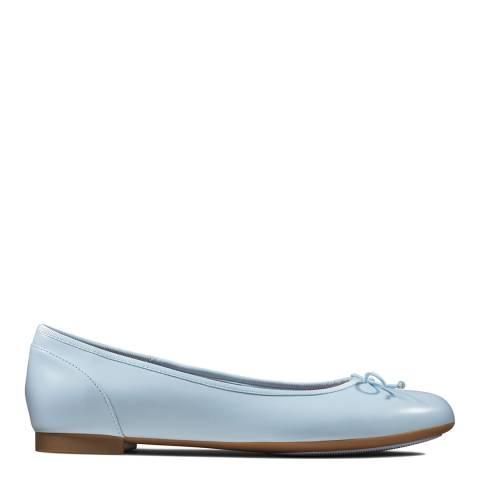 Clarks Blue Couture Bloom Ballet Pumps