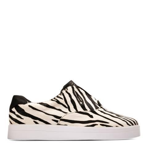 Clarks Zebra Print Hero Step Sneakers